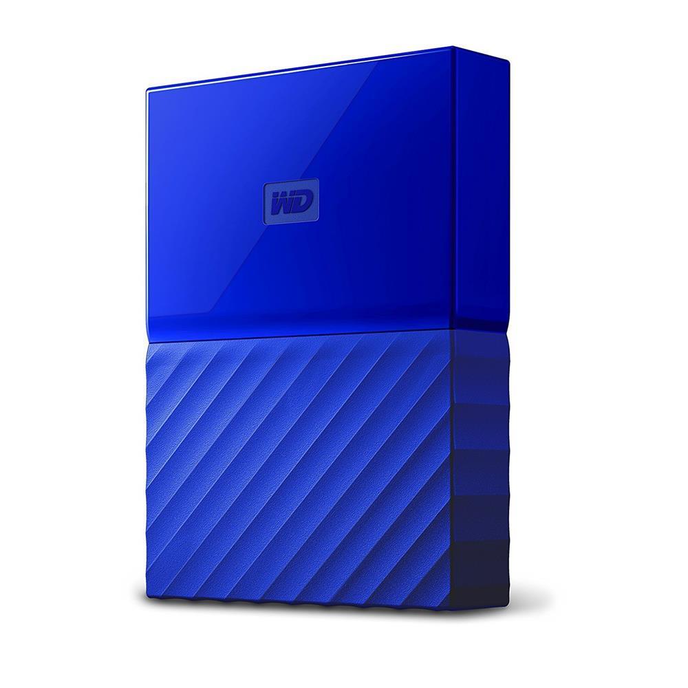 """Εξωτερικός Σκληρός Western Digital My Passport 2016 1TB USB 3.0 2.5"""" WDBYNN0010BBL Blue image"""