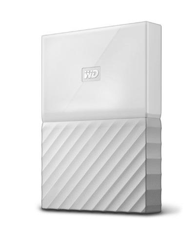 """Εξωτερικός Σκληρός Western Digital My Passport 2016 2TB USB 3.0 2.5"""" WDBYFT0020BWT White image"""