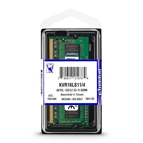 ValueRAM By Kingston 4GB Ram DDR3L Για Φορητό 1600MHz CL11 KVR16LS11/4 image