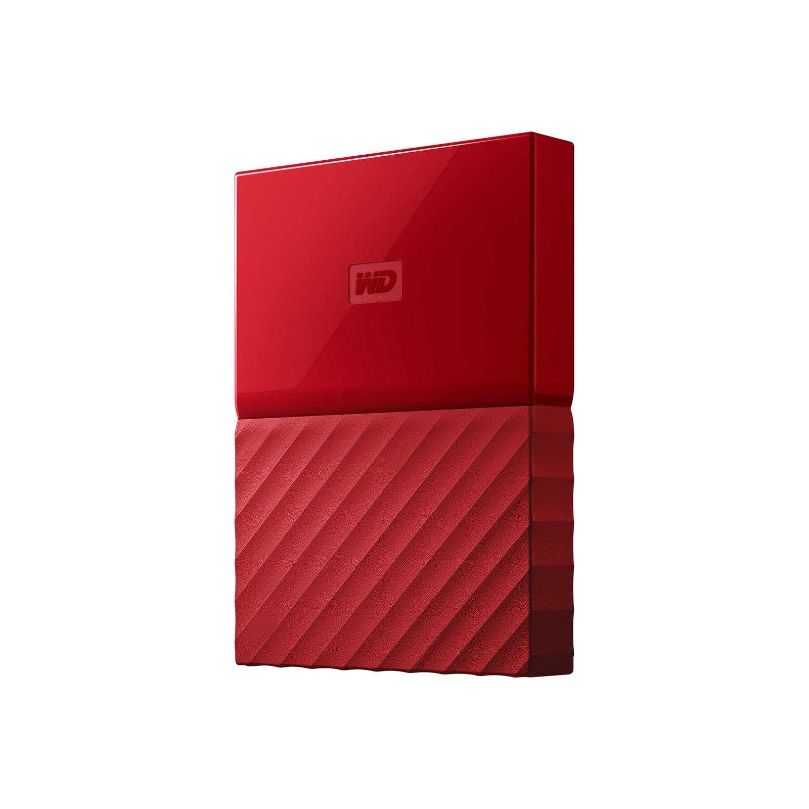 """Εξωτερικός Σκληρός Western Digital My Passport 2016 4TB USB 3.0 2.5"""" WDBYFT0040BRD Red image"""