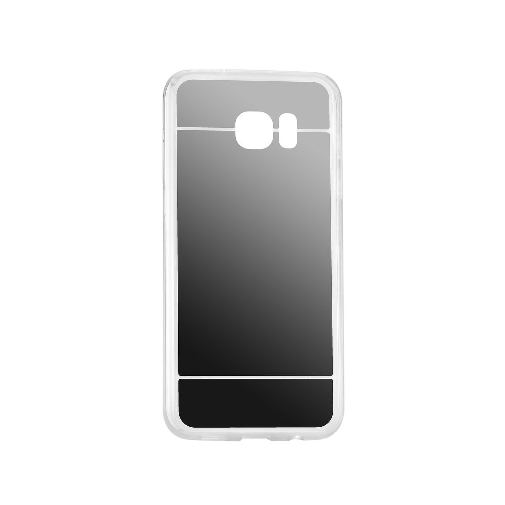 Samsung Galaxy S8 Plus G955 Forcell Mirror Silicone Case Grey image