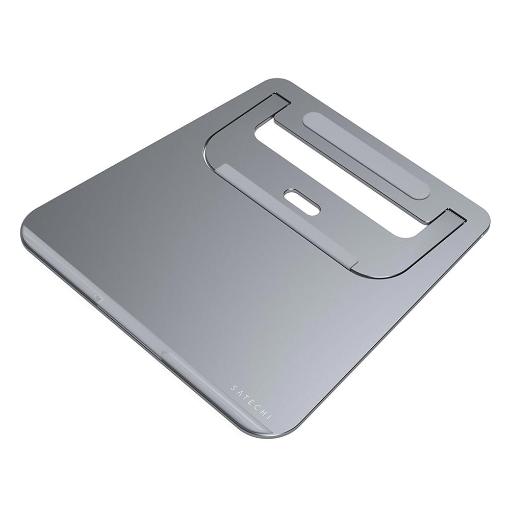 Aluminum Portable Laptop Stand For Mac Space Gray ST-ALTSM image