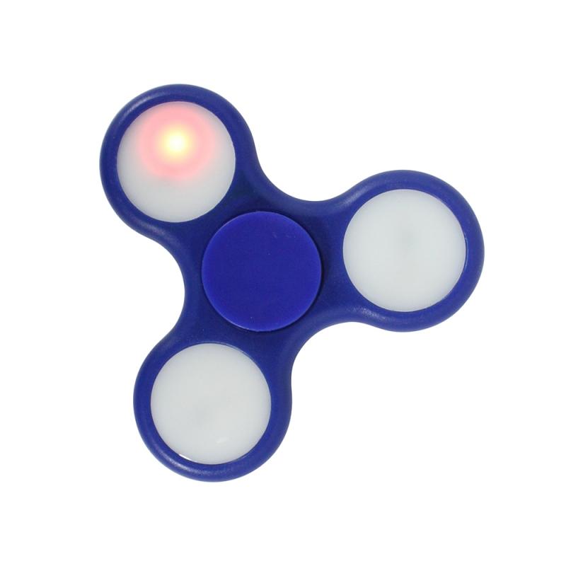 Fidget Spinner LED I love you Message 1 Minute Blue image