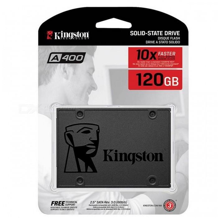 """SSD A400 120GB Kingston 2.5"""" Sata III SA400S37/120G image"""