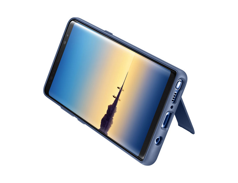 Original Protective Standing Cover Samsung Galaxy Note 8 Deep Blue EF-RN950CNE image