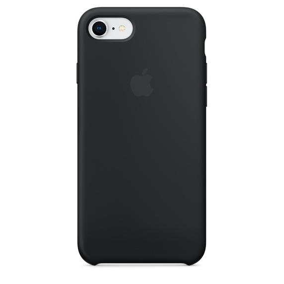 "iPhone 8/7/SE 2020 4.7"" Silicone Case Original Black MQGK2ZM/A image"