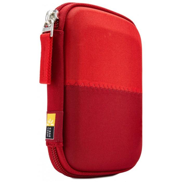 """Θήκη Εξωτερικού Σκληρού Δίσκου 2,5"""" Κόκκινη Burgundy Case Logic HDC-11 image"""