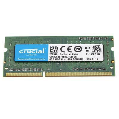 Crucial By Micron 4GB Ram DDR3L Για Φορητό 1600MHz CL11 CT51264BF160BJ image