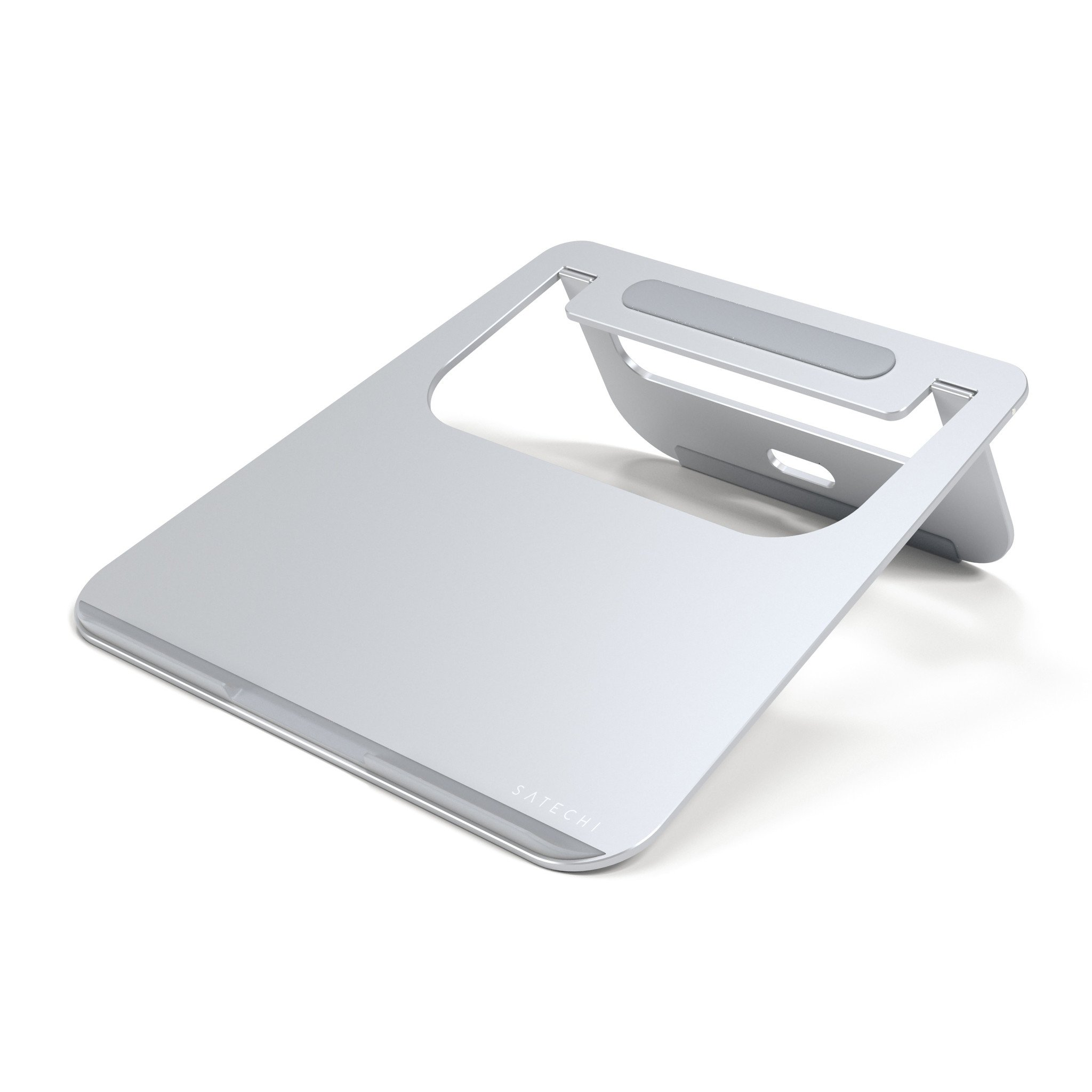 Aluminum Portable Laptop Stand For Mac Silver ST-ALTSS image
