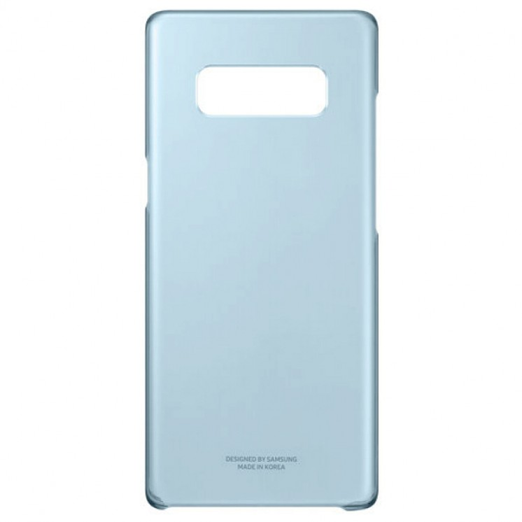 Original Clear Cover Samsung Galaxy Note 8 EF-QN950CNE Blue image