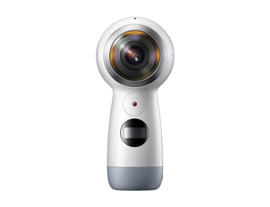 Gear 360 2017 Camera White Samsung SM-R210 ΜΕ ΑΝΟΙΓΜΕΝΗ ΣΥΣΚΕΥΑΣΙΑ image