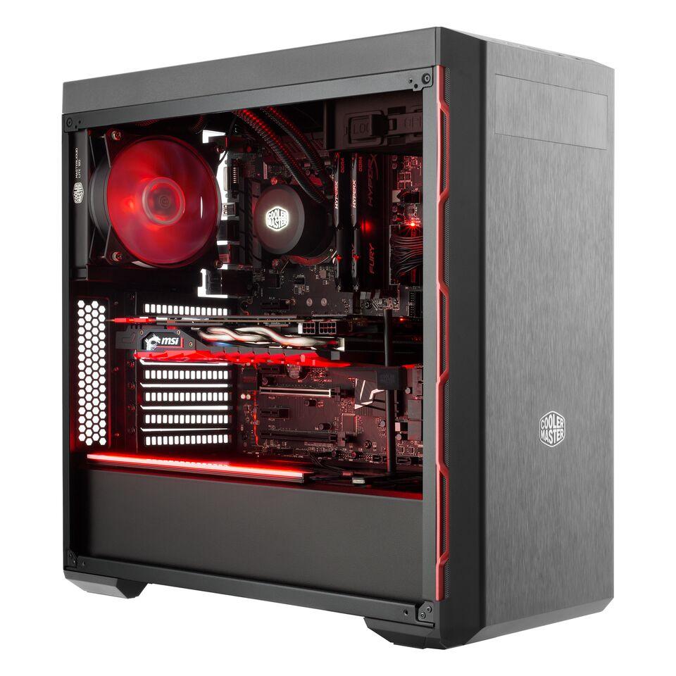 MasterBox MB600L CM Red Trim MCB-B600L-KA5N-S00 image
