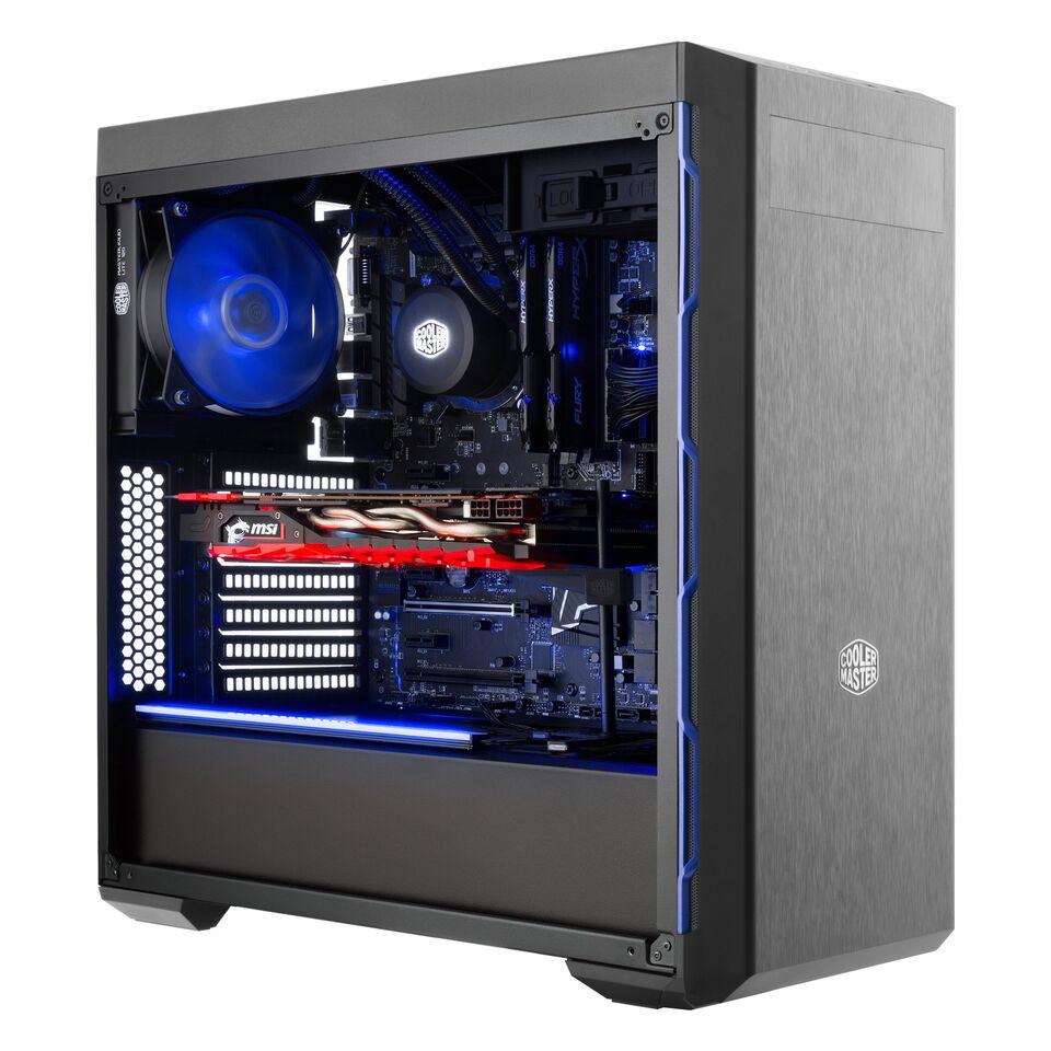 MasterBox MB600L CM Blue Trim MCB-B600L-KA5N-S01 image