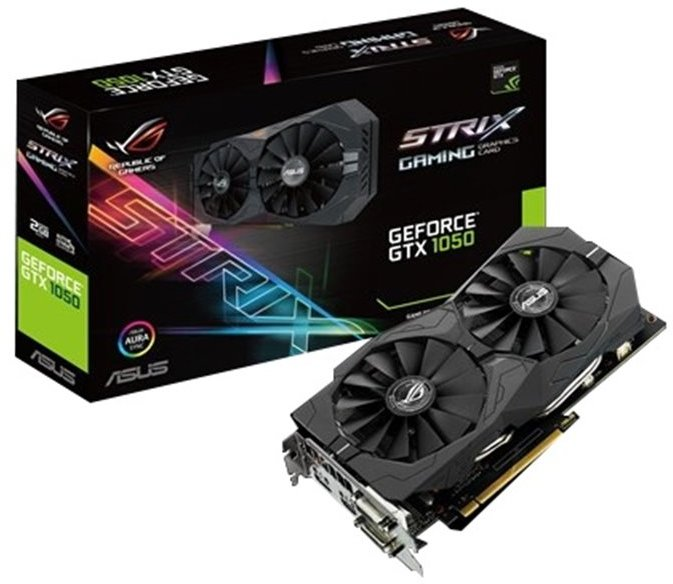 Κάρτα Γραφικών Asus GeForce Strix GTX 1050 2GB 90YV0AD1-M0NA00 image