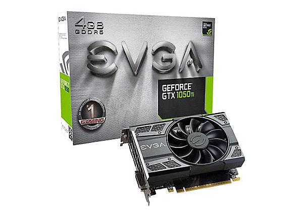 Gaming Κάρτα Γραφικών Evga GeForce GTX 1050Ti GDDR5 4GB 04G-P4-6251-KR image