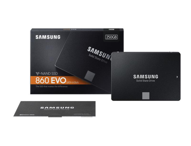 "SSD 860 EVO 250GB Samsung 2.5"" Sata III MZ-76E250B/EU image"