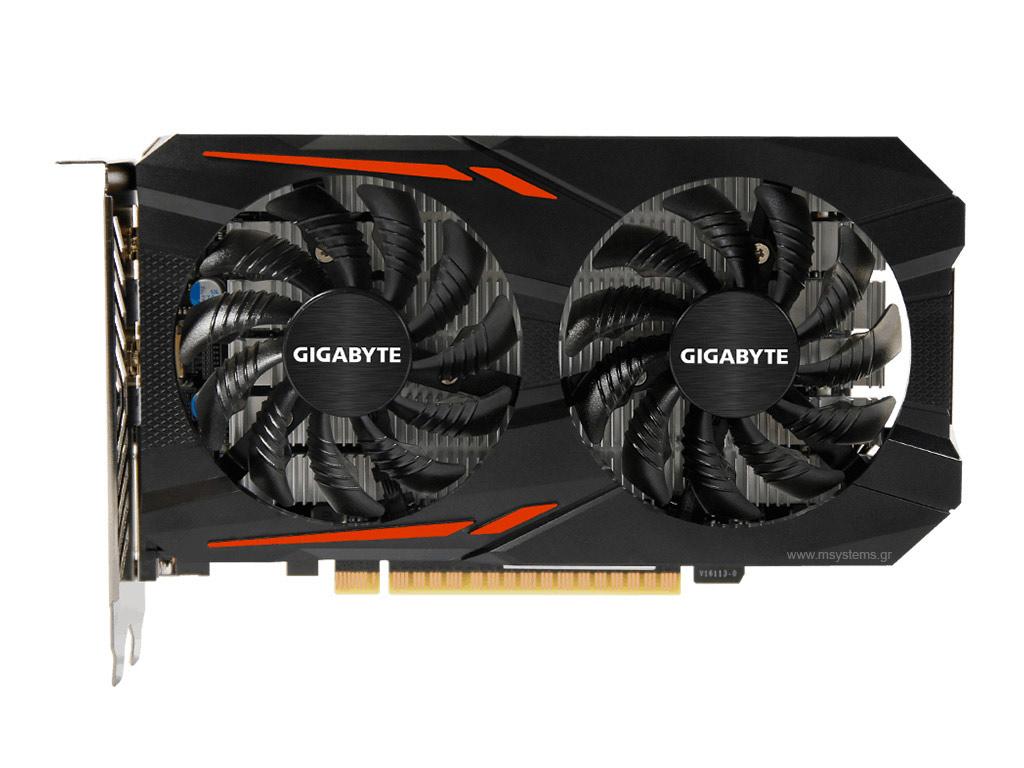 Κάρτα Γραφικών Gigabyte GeForce GTX 1050 D5 2GB OC GDDR5 GV-N1050OC-2GD image