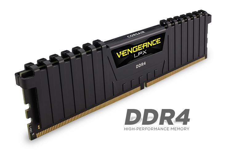 Vengeance LPX By Corsair 2x8GB Ram DDR4 3000MHz CL15 CMK16GX4M2B3000C15 image