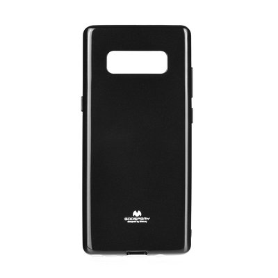 Samsung Galaxy Note 8 Mercury Pearl Jelly Case Black image