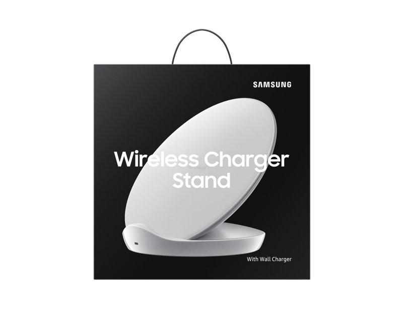 Ασύρματος Ταχυφορτιστής + Φορτιστής Ταξιδίου Samsung Galaxy S9, S9 Plus White EP-N5100TWE image