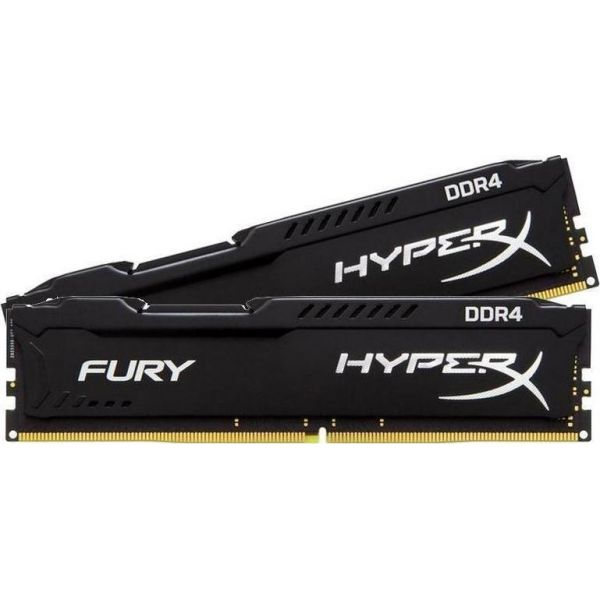 HyperX By Kingston 2x4GB Ram DDR4 2400MHz CL15 HX424C15FBK2/8 image
