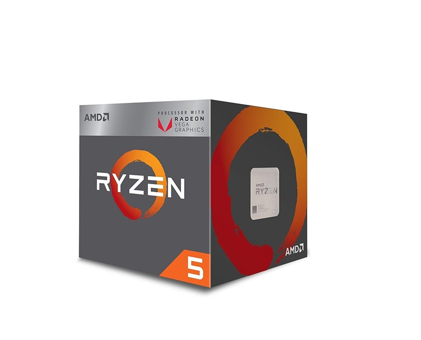 Επεξεργαστής Ryzen 5 2400G 3.9GHz Max Boost AM4 With Radeon Vega Graphics YD2400C5FBBOX image