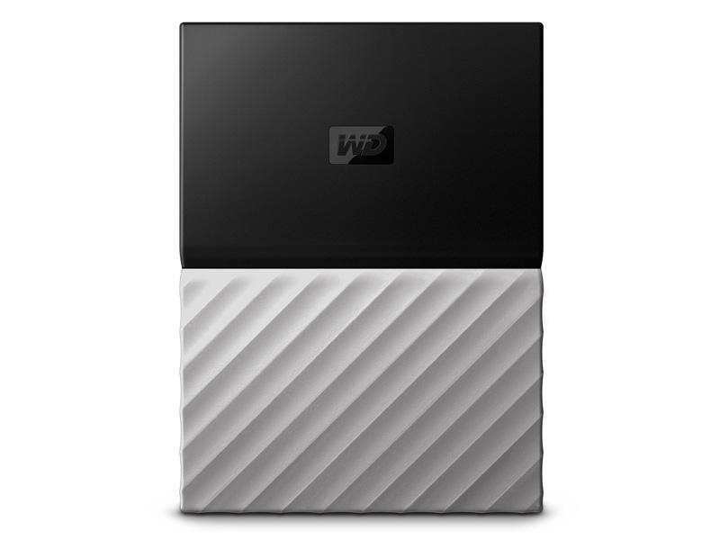 "Εξωτερικός Σκληρός WD My Passport Ultra 2016 1TB USB 3.0 2.5"" WDBTLG0010BGY Silver/Black"