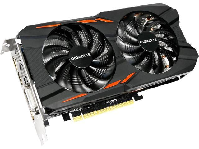 Κάρτα Γραφικών Gigabyte GeForce GTX 1050Ti Windforce 2X OC 4G GV-N105TWF2OC-4GD image