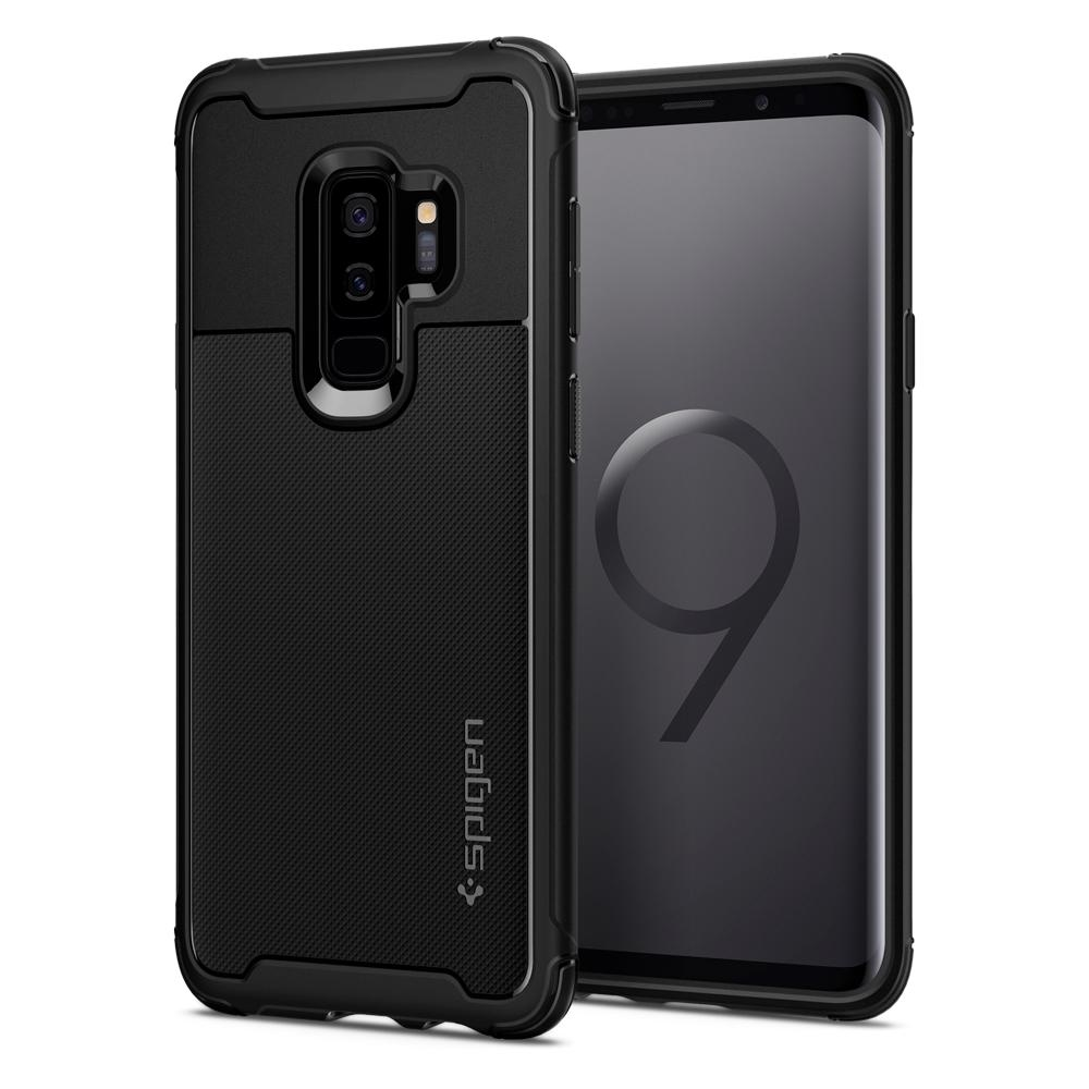 Samsung Galaxy S9 Plus Spigen Rugged Armor Urban Black 593CS22962 image
