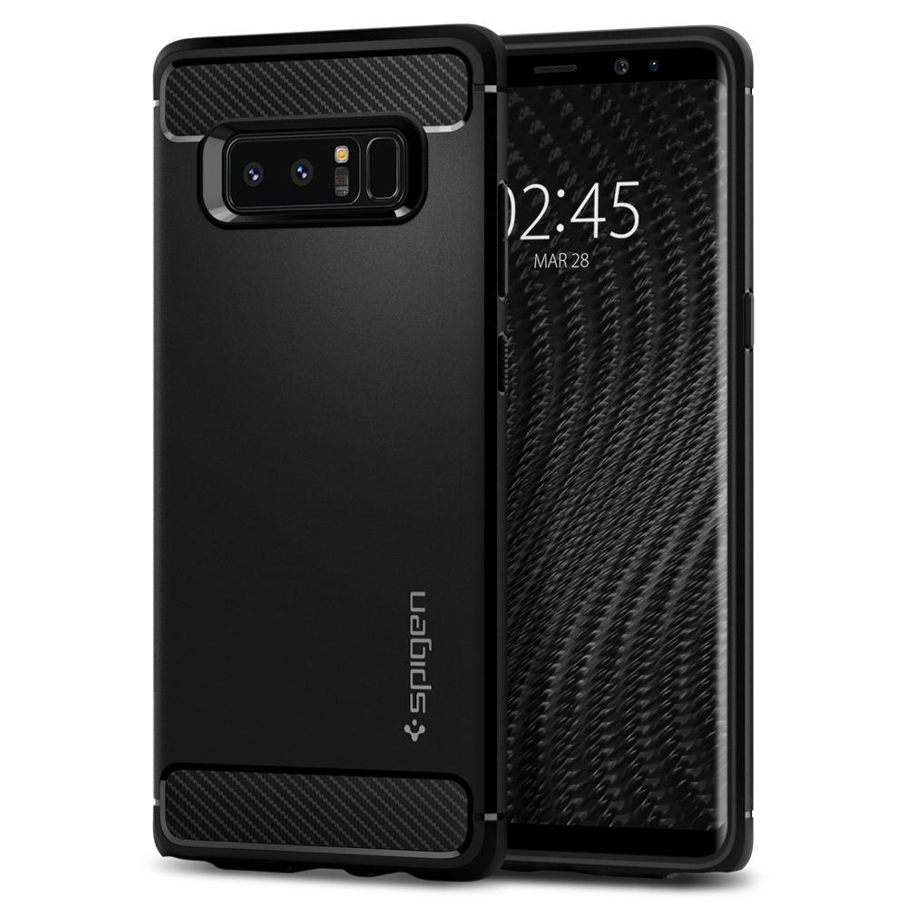 Samsung Galaxy Note 8 Spigen Rugged Armor Matte Black 587CS22061 image