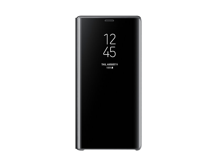 Original Clear View Cover Samsung Galaxy Note 9 Black EF-ZN960CBE image