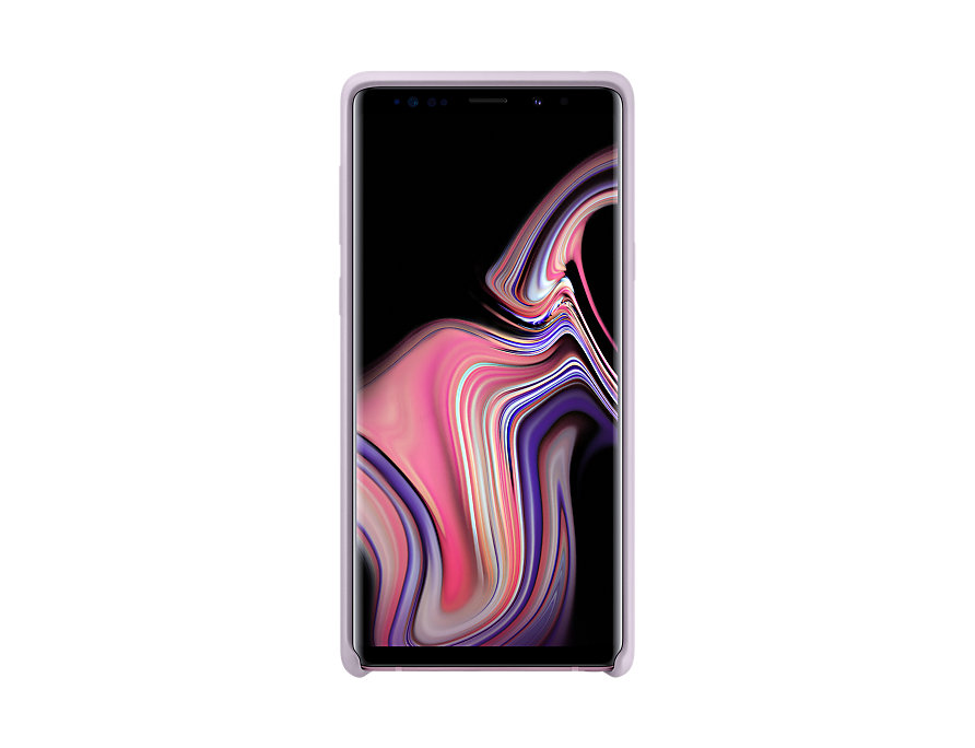Original Silicone Cover For Samsung Galaxy Note 9 Lavender EF-PN960TVE image