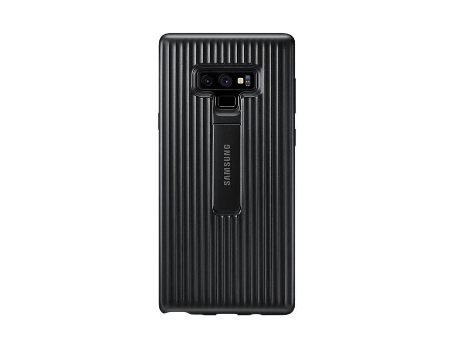 Original Protective Standing Cover Samsung Galaxy Note 9 Black EF-RN960CBE image