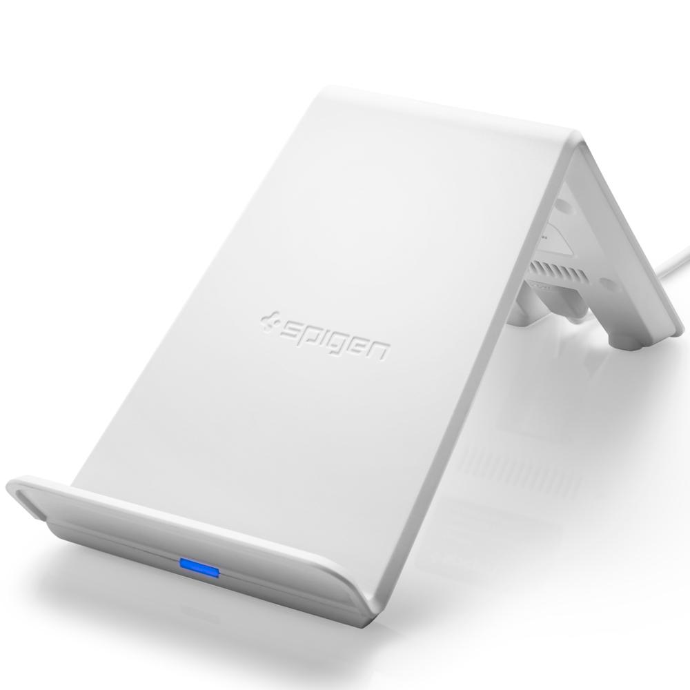Ασύρματος φορτιστής (Fast Charger) Spigen Essential F303W White image