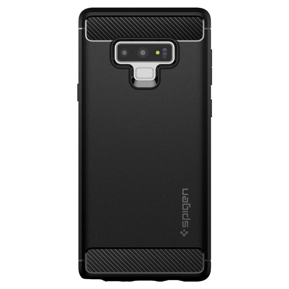 Samsung Galaxy Note 9 Spigen Rugged Armor Black MIL-STD 599CS24572 image