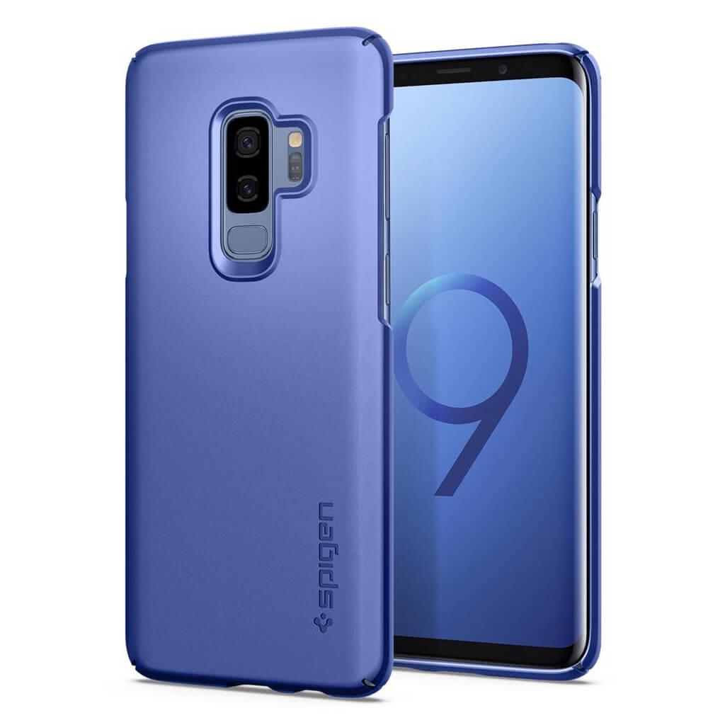 Samsung Galaxy S9 Plus Spigen Thin Fit Coral Blue 593CS22909 image