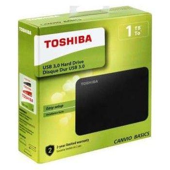 Εξωτερικός Σκληρός Toshiba Canvio Basics 1TB USB 3.0 HDTB410EK3AA image