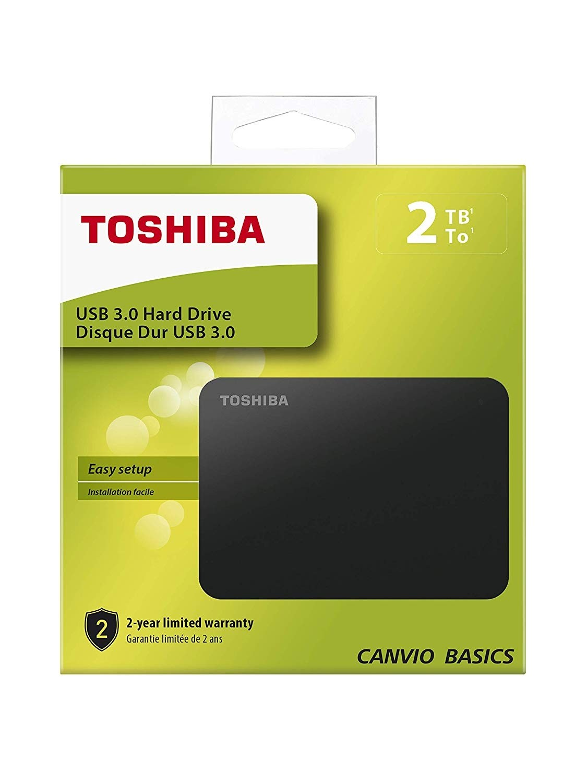 Εξωτερικός Σκληρός Toshiba Canvio Basics 2TB USB 3.0 HDTB420EK3AA image