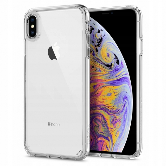 iPhone Xs/X Spigen Ultra Hybrid MIL-STD Crystal Clear 063CS25115 image
