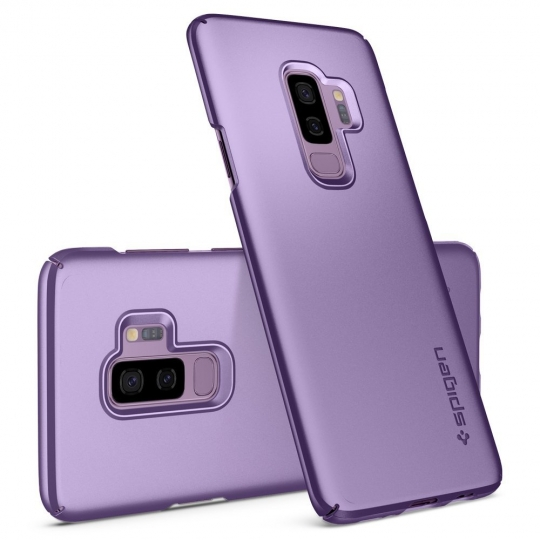 Samsung Galaxy S9 Plus Spigen Thin Fit Lilac Purple 593CS22911 image