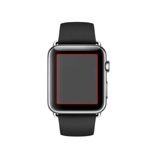 Apple Watch Series 3/2/1 3H Crystal Screen Protector (FILM) x3 38mm 047FL20993 image