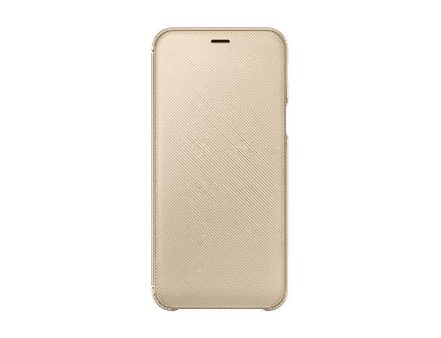 "Samsung Galaxy A6 2018 5.6"" Flip Cover Original Gold EF-WA600CFE image"