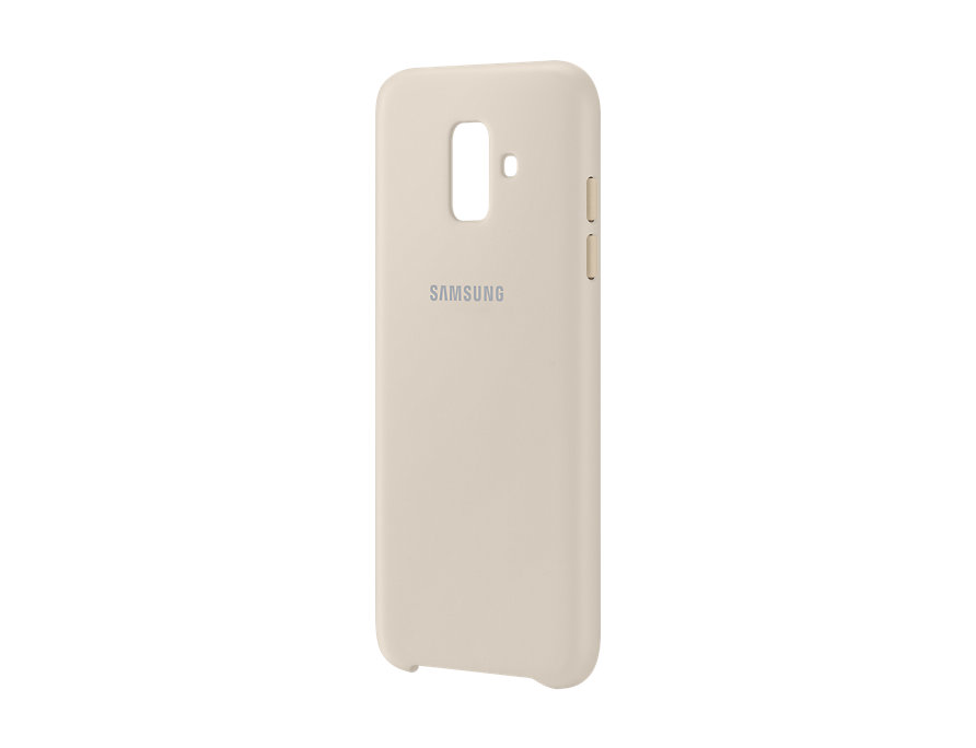 """Samsung Galaxy A6 2018 5.6"""" Dual Layer Cover A600 EF-PA600CFE Gold image"""