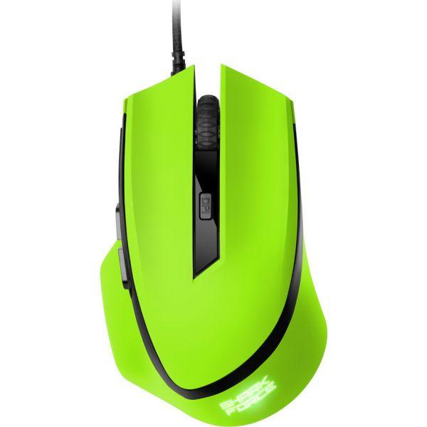 Ενσύρματο Gaming Laser Ποντίκι Shark Force Green 4044951013999 image
