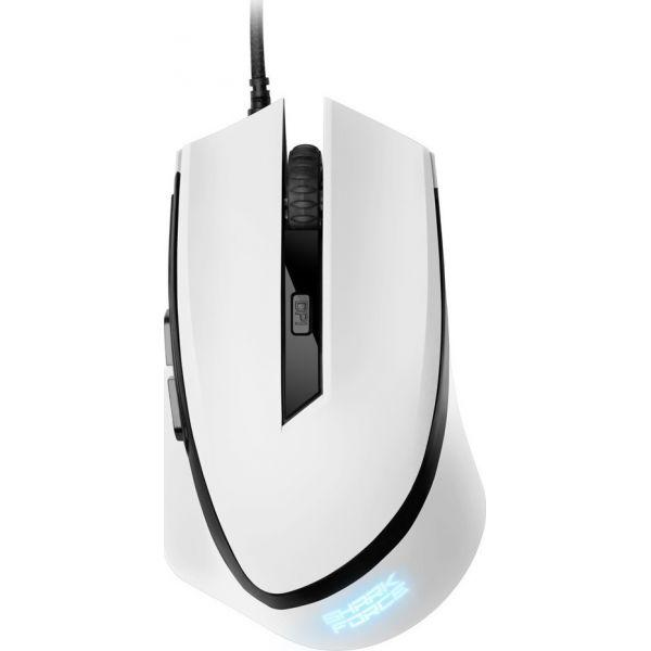 Ενσύρματο Gaming Laser Ποντίκι Shark Force White 4044951013982 image