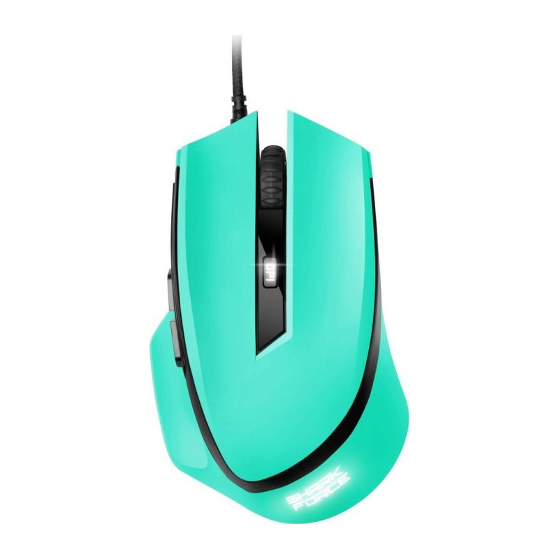 Ενσύρματο Gaming Laser Ποντίκι Shark Force Mint 4044951021819 image
