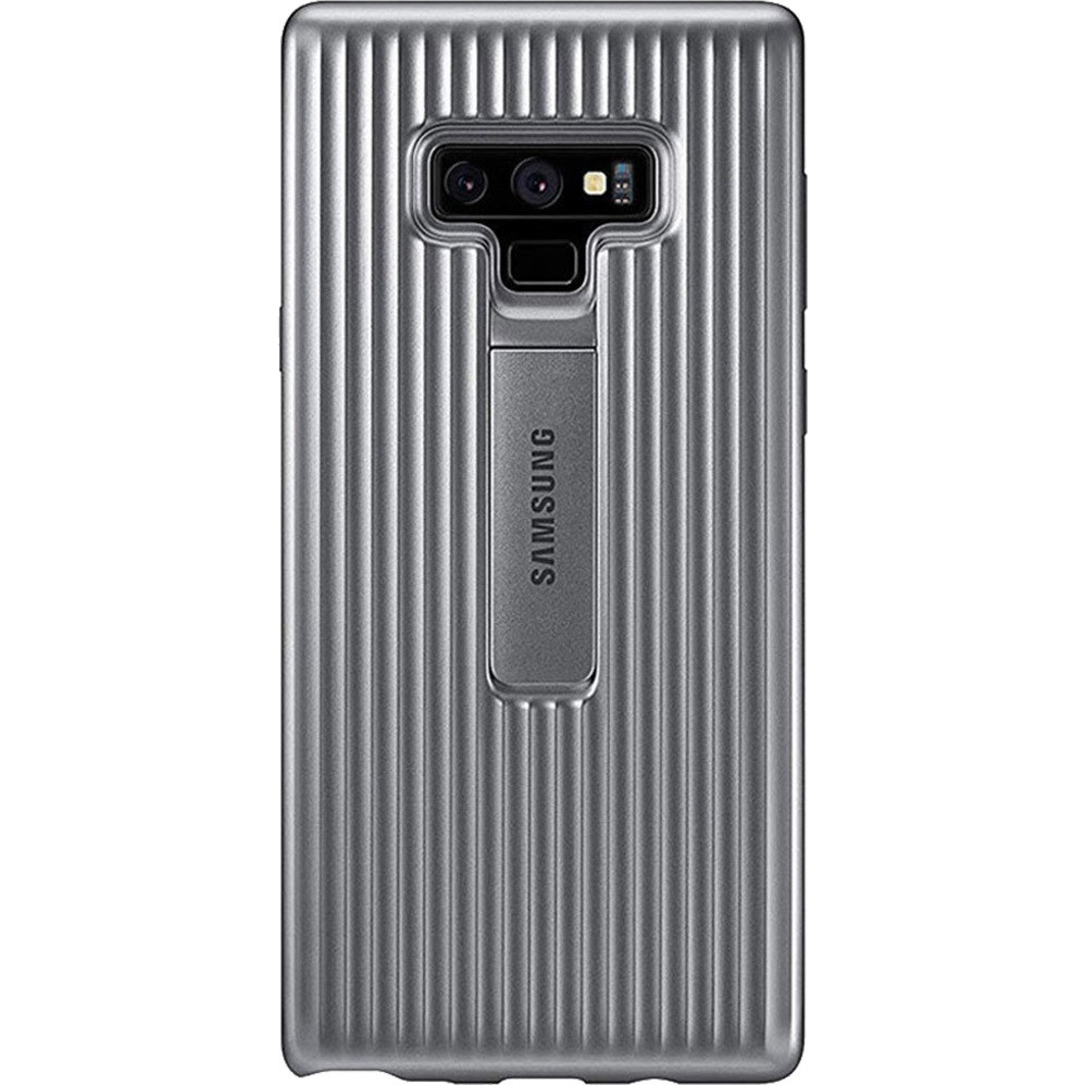 Original Protective Standing Cover Samsung Galaxy Note 9 Silver EF-RN960CSE image