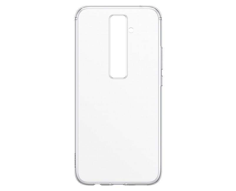 """Γνήσια Θήκη Back Cover Σιλικόνης (TPU) Για το Huawei Mate 20 Lite 6.3"""" Διάφανη 51992670 image"""