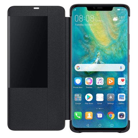 """Γνήσια Θήκη Flip Case Για Το Huawei Mate 20 Pro 6.39"""" Με Παράθυρο Black 51992696 image"""