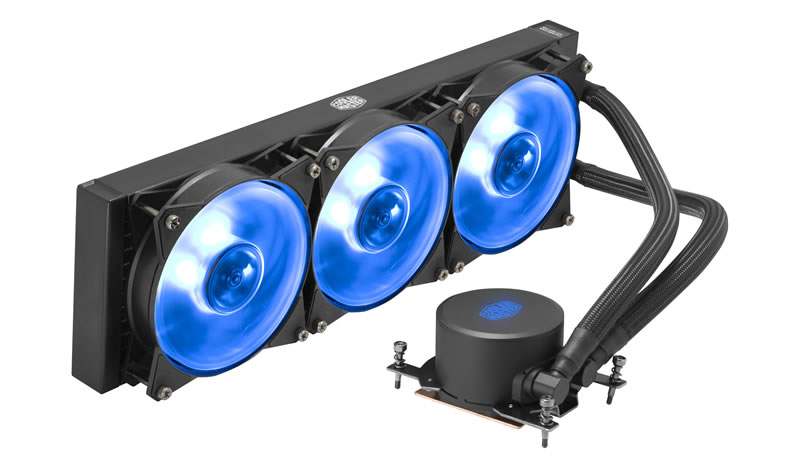 Υδρόψυξη MasterLiquid ML360 RGB TR4 Edition CM MLX-D36M-A20PC-T1 image